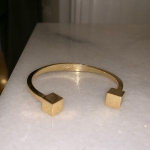 JCrew gold cuff bracelet